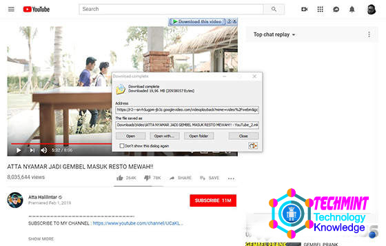 How to Download YouTube Videos on a Laptop via the IDM Button