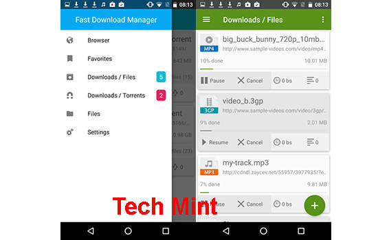 Fast Download Manager