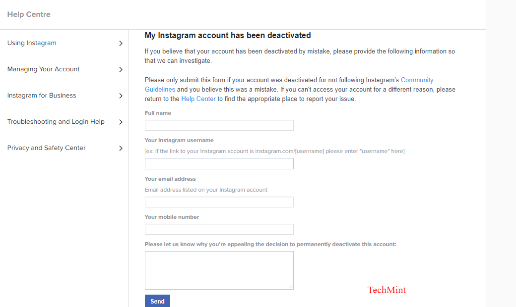 How to Reactivate a Suspended or Banned Instagram Account