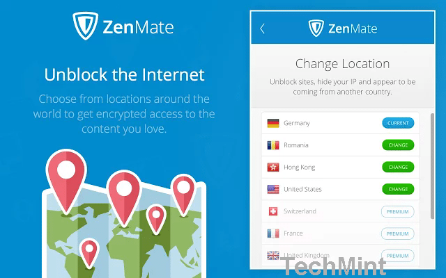 zenmate free chrome vpn