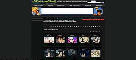 Chia-anime streaming sites