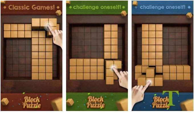 Wood Block - Music Box best tetris game