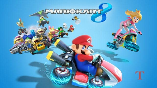 best wii u games Mario Kart 8