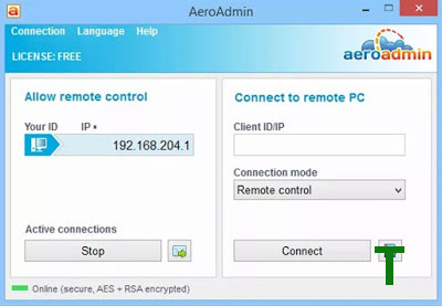 AeroAdmin TeamViewer Alternative