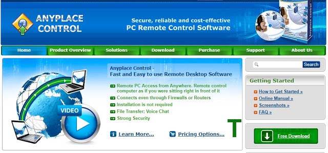 Anyplace Control TeamViewer Alternative