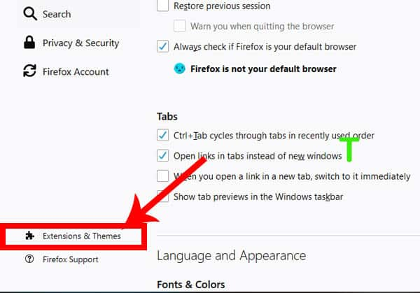 How to turn off Adblock in Firefox 1