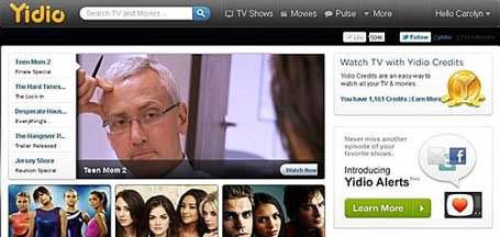 Yidio TVMuse alternatves