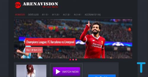 Arenavision is a VIPLeague alternatives