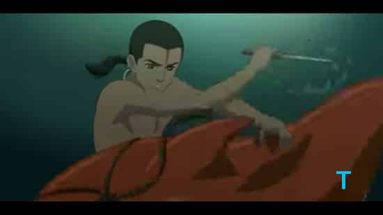 Chinese Anime Big-Fish-Begonia