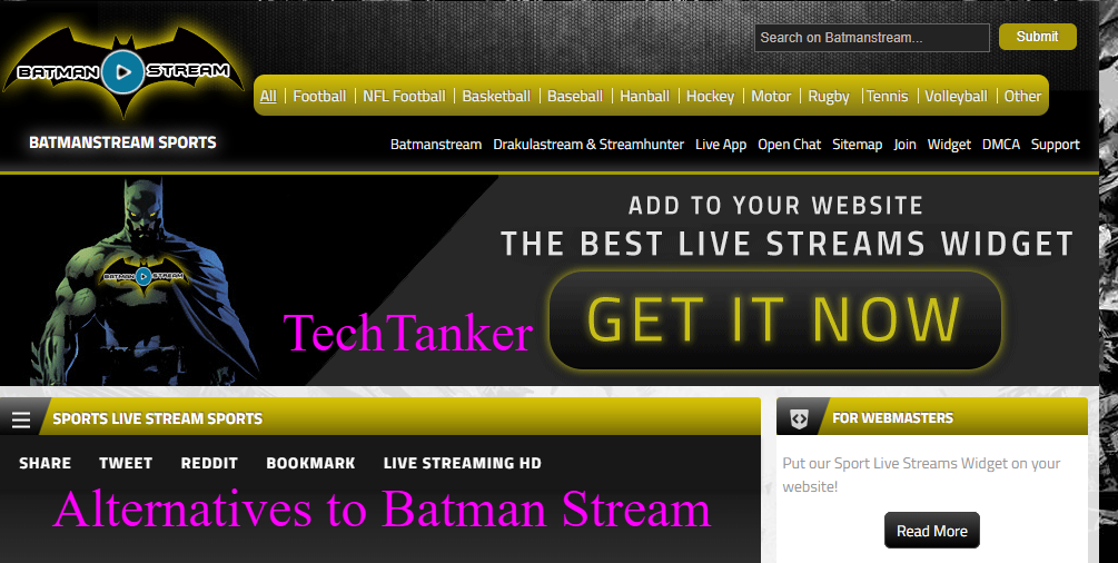 The Best Alternatives to Batman Stream to Watch Live Spotrs