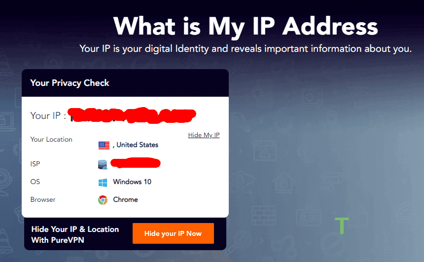 Verify your IP again