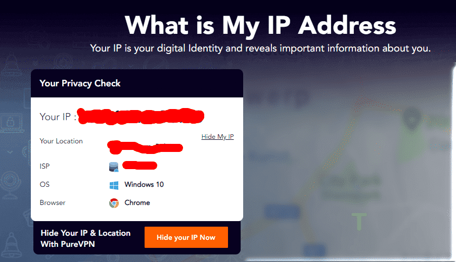Verify your real IP